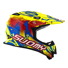 SUOMY MR JUMP GRAFFITI  RED/YELLOW